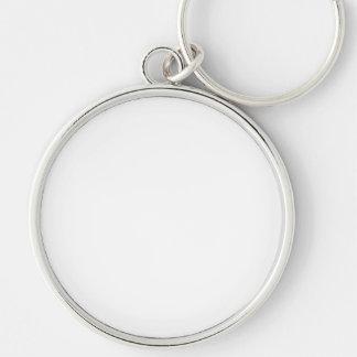 Porte-clés ronds avec photo personnalisés