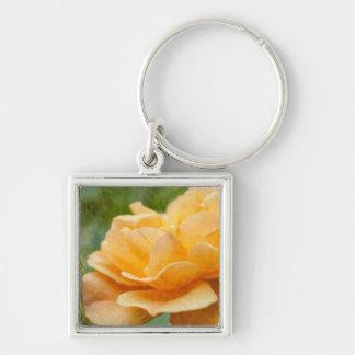 Porte-clés Rose d'orange Painterly