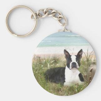 Porte-clés Roseau des sables de porte - clé de Boston Terrier