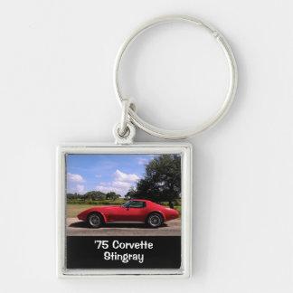 Porte-clés Rouge de 'porte - clé de pastenague 75 Corvette