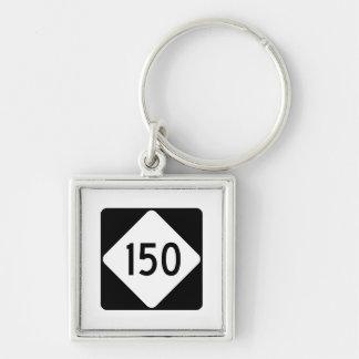 Porte-clés Route 150 de la Caroline du Nord