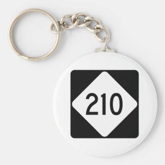 Porte-clés Route 210 de la Caroline du Nord