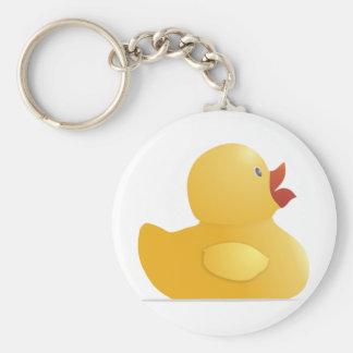 Porte-clés Rubberduck jaune