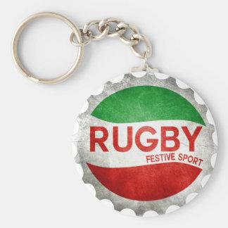 Porte-clés rugby basque festive sport
