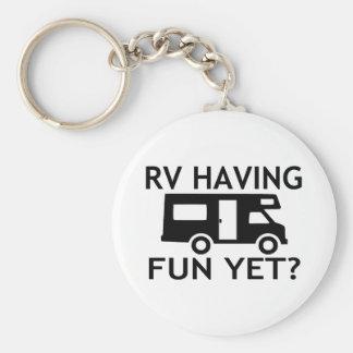 Porte-clés Rv ayant l'amusement pourtant le jeu de mots drôle