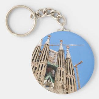 Porte-clés Sagrada Familia à Barcelone, Espagne