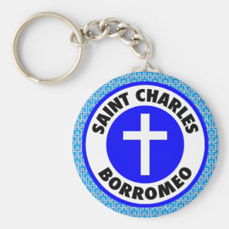 Porte-clés Saint Charles Borromeo