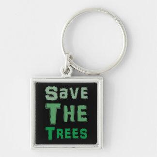 Porte-clés Sauvez les arbres