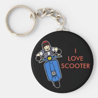 Porte-clés Scooter