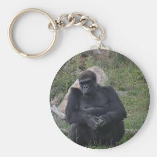 Porte-clés Séance de gorille