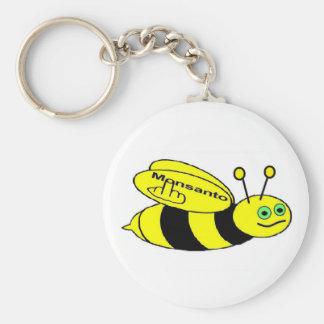 Porte-clés Secousse d'abeille de Monsanto de porte - clé