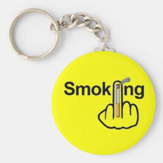 Porte-clés Secousse de tabagisme de porte - clé