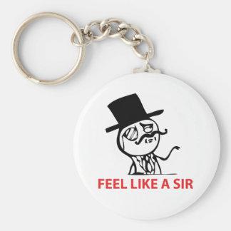 Porte-clés Sentez comme monsieur - porte - clé