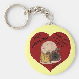 Porte-clés Sentiment chaud et brouillé ! Coeur