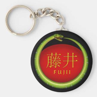 Porte-clés Serpent de monogramme de Fujii