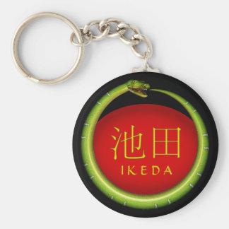 Porte-clés Serpent de monogramme d'Ikeda