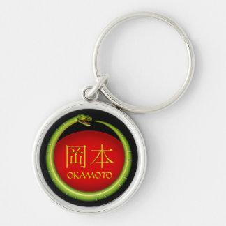 Porte-clés Serpent de monogramme d'Okamoto
