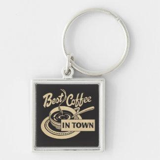 Porte-clés Servir le café ❝Best dans Town❞
