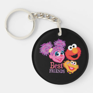 Porte-clés Sesame Street de meilleurs amis