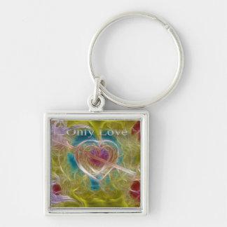 Porte-clés Seulement porte - clé d'amour