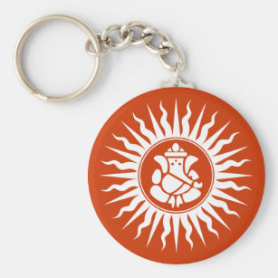 Porte-clés Signe indou de Dieu de Ganesha