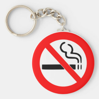PORTE-CLÉS SIGNE NON-FUMEURS - TABAGISME INTERDIT