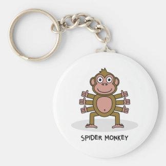 Porte-clés Singe d'araignée