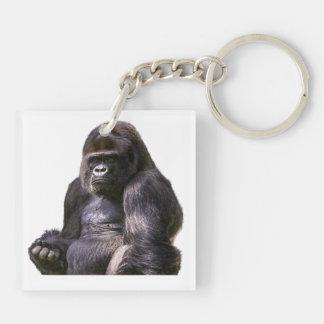 Porte-clés Singe de singe de gorille