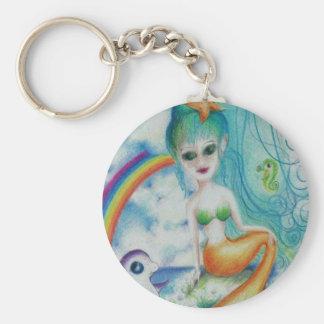 Porte-clés Sirène magique mystique