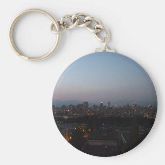 Porte-clés Soirée de Vancouver