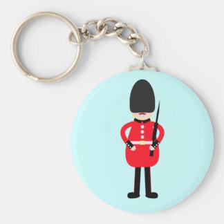 Porte-clés Soldat britannique