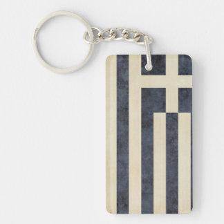Porte-clés Souvenir de porte - clé de drapeau de la Grèce