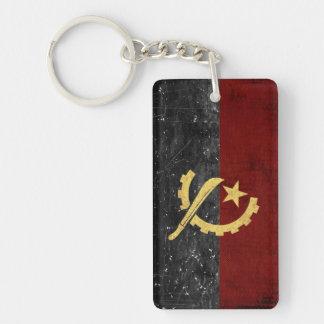 Porte-clés Souvenir de porte - clé de drapeau de l'Angola