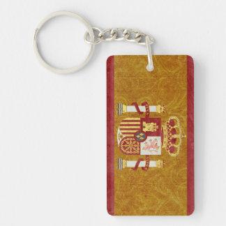 Porte-clés Souvenir de porte - clé de drapeau de l'Espagne