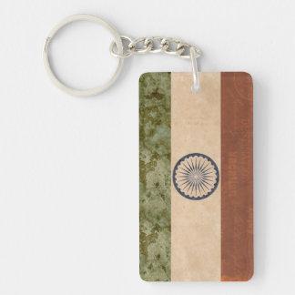 Porte-clés Souvenir de porte - clé de drapeau de l'Inde