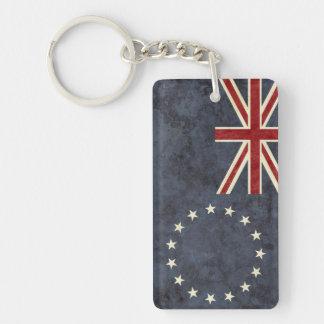 Porte-clés Souvenir de porte - clé de drapeau d'îles Cook