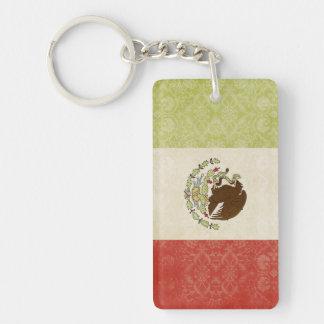 Porte-clés Souvenir de porte - clé de drapeau du Mexique