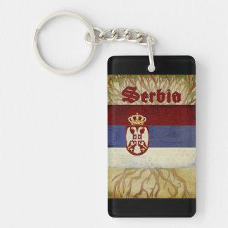 Porte-clés Souvenir de porte - clé de la Serbie