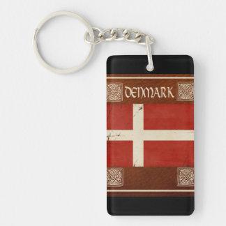 Porte-clés Souvenir de porte - clé du Danemark