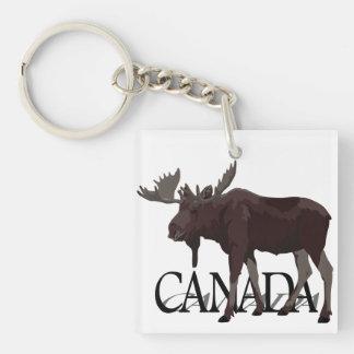Porte-clés Souvenirs faits sur commande du Canada de porte -