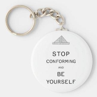 Porte-clés Soyez vous-même