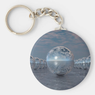 Porte-clés Sphères au soleil