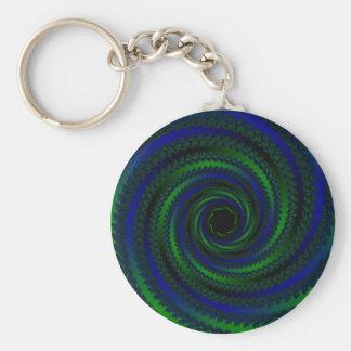 Porte-clés spirale