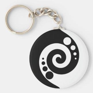 Porte-clés Spirale de la vie