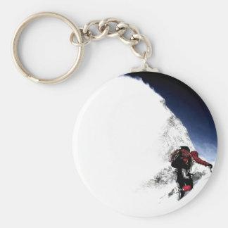 Porte-clés Sports d'extrémité de grimpeur de montagne