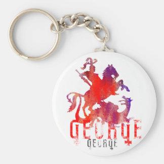 Porte-clés St George et dragon