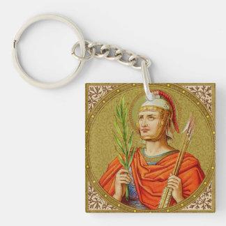 Porte-clés St SebastiAn (SNV 24) de double image