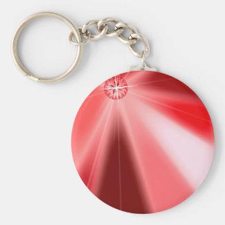 Porte-clés Starburst rouge