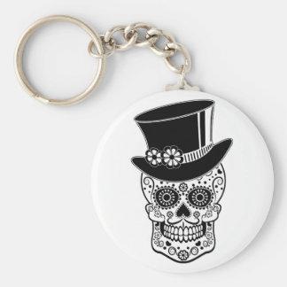 Porte-clés Sucre Skull-01 de monsieur
