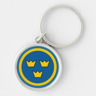 Porte-clés Suédois trois couronnes Flygvapnet